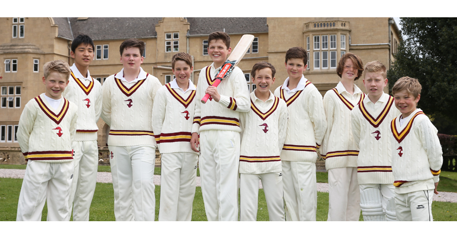 School Cricket Team Photography