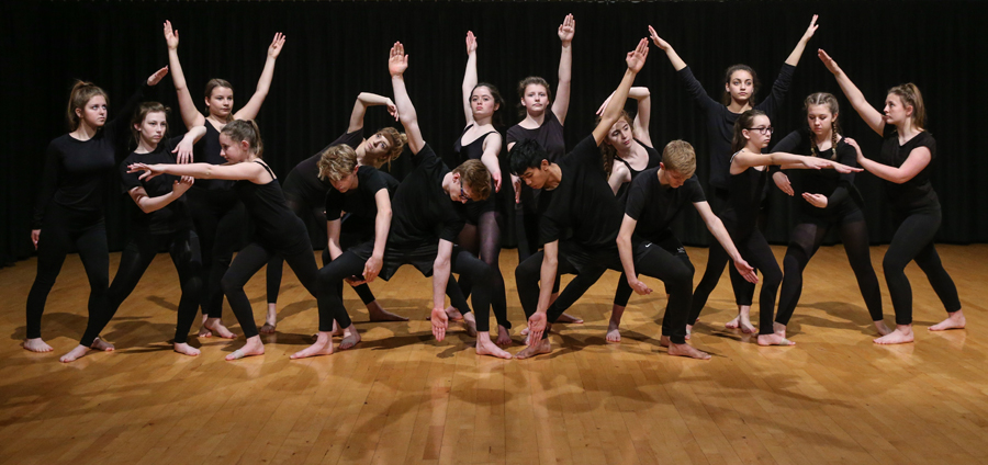School Drama Group Photography