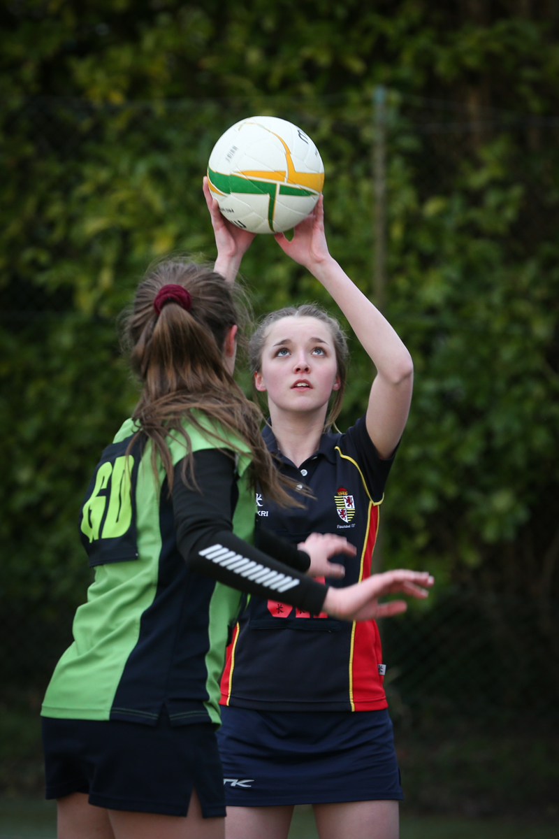 School Netball Photography